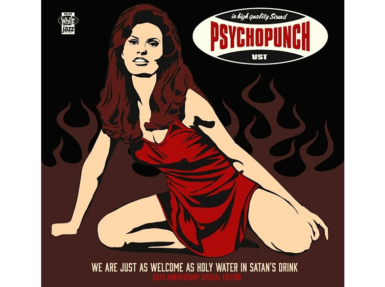 Psychopunch - We Are Just As Welcome...(20th Anniv.LP-Edition) [Vinyl]