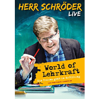 Herr Schröder - World of Lehrkraft (Live) [DVD]