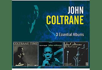 John Coltrane - 3 Essential Albums: Blue Train / Coltrane Time / The Paris Concert  - (CD)