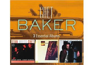Chet Backer - 3 Essential Albums: Stan Meets Chet / Baby Breeze / You Can't Go Home Again  - (CD)