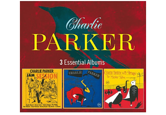 Charlie Parker - 3 Essential Albums: Jam Session / South Of The Border / With Strings: The Master Takes  - (CD)