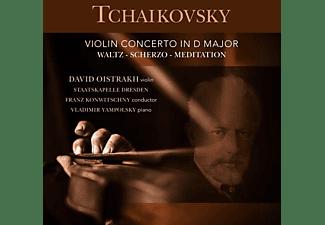 David Oistrach, Vladimir Yampolsky, Staatskapelle Dresden - Violin Concerto In D Major op.35  - (Vinyl)