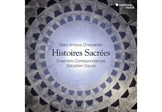 Ensemble Correspondances, Sebastien Dauce - CHARPENTIER HISTOIRES SACREES  - (CD + DVD Video)