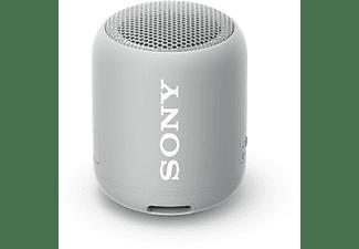 SONY SRS-XB12 Bluetooth Lautsprecher, Grau, Wasserfest