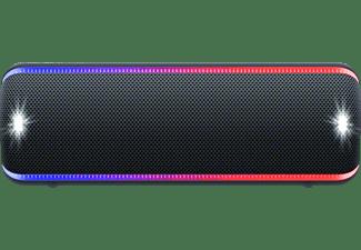 SONY SRS-XB32 Wireless Party Chain Bluetooth Lautsprecher, Schwarz, Wasserfest