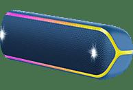 SONY SRS-XB32 Wireless Party Chain Bluetooth Lautsprecher, Blau, Wasserfest