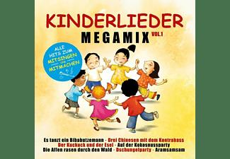VARIOUS - Kinderlieder Megamix Vol.1/Alle Hits Zum Mitsingen  - (CD)