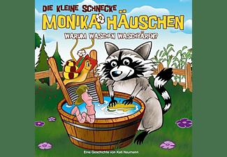 Die Kleine Schnecke Monika Häuschen - 53: Warum Waschen Waschbären?  - (CD)