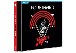 Foreigner - Live at the Rainbow '78 Blu-ray + CD