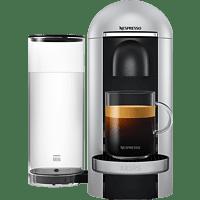 KRUPS XN900E Nespresso Vertuo Plus Kapselmaschine, Silber