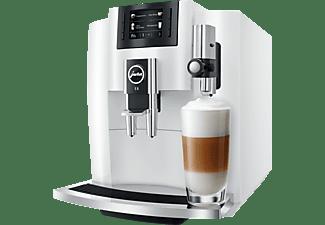 JURA E8 Piano White Kaffeevollautomat Weiß