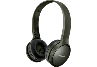 PANASONIC RP-HF410B, On-ear Kopfhörer Bluetooth Grün