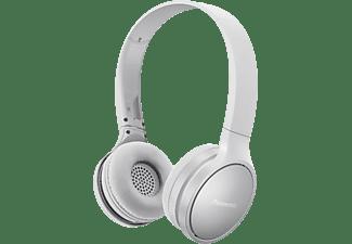PANASONIC RP-HF410B, On-ear Kopfhörer Bluetooth Weiß