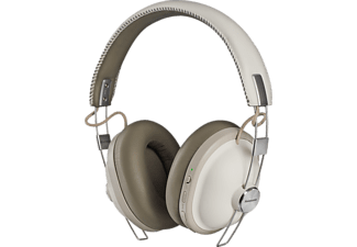 PANASONIC RP-HTX90NE-W CORDLESS HEADPHONE, Over-ear Kopfhörer Bluetooth Weiß