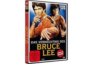 DAS VERMÄCHTNIS DES BRUCE LEE-6 Filme in einer B DVD