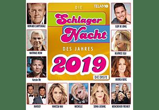 VARIOUS - Die Schlagernacht des Jahres 2019:Die Erste  - (CD)