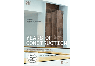 Years of Construction DVD