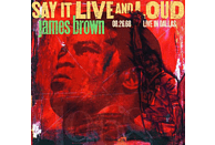 James Brown - Say It Live And Loud: Live In Dallas (2LP) [Vinyl]
