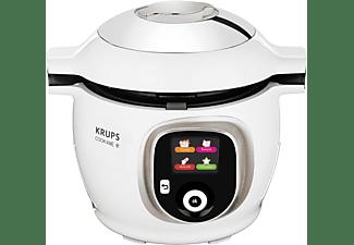 KRUPS CZ7101.MS Cook4Me+ Multikocher Weiß/Grau (Rührschüsselkapazität: 4 Liter, 1600 Watt)