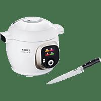 KRUPS CZ7101.MS Cook4Me+ Multikocher, Weiß/Grau