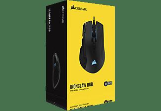 CORSAIR IRONCLAW Gaming Maus, Schwarz