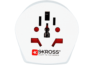 SKROSS World to USA - Adaptateur Voyage (Blanc)