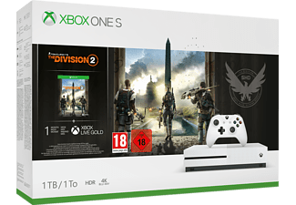 MICROSOFT Xbox One S 1 TB + Tom Clancy's The Division 2 (234-00880)