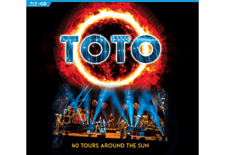 Toto - 40 TOURS AROUND THE SUN - (CD + Blu-ray Disc)