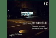Kammerorchester Basel - Haydn 2032 Vol.7-Gli Impresari [CD]