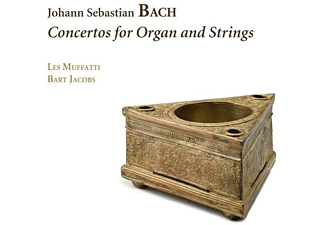 Les Muffatti - Bart Jacobs - Concertos For Organ And Strings  - (CD)