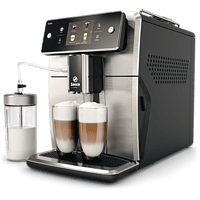 SAECO Xelsis Kaffeevollautomat SM7683/10, schwarz-silber