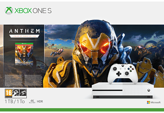 MICROSOFT Xbox One S 1TB Anthem