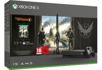 Bundle Xbox One X 1TB + Tom Clancy's The Division 2 -  -