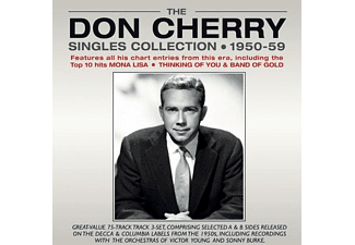 Don Cherry - The Don Cherry Singles Collection 1950-1959  - (CD)