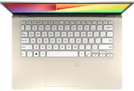 ASUS VivoBook S14 S430FA (S430FA-EB243T), Notebook mit 14.0 Zoll Display, Core™ i7 Prozessor, 8 GB RAM, 1 TB HDD, 256 GB SSD, Intel® UHD-Grafik 620, Icicle Gold