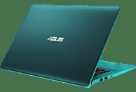 ASUS VivoBook S430FA-EB186T I3-8145U/8GB/256GB SSD GREEN, Notebook mit 14 Zoll Display, Core™ i3 Prozessor, 8 GB RAM, 256 GB SSD, Intel® UHD-Grafik 620, Firmament Green