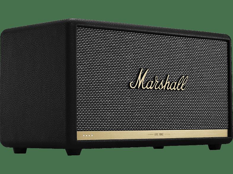 MARSHALL Stanmore II Voice Google Assistant - Lautsprecher (Ja, notwendiges Sonderzubehör nicht im Lieferumfang enthalten, Bluetooth, Schwarz)