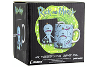 PALADONE PRODUCTS Rick and Morty Thermoeffekt -Tasse Mr. Meeseeks Tasse, Mehrfarbig