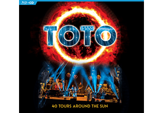 Toto - 40 Tours Around the Sun CD+Blu-ray
