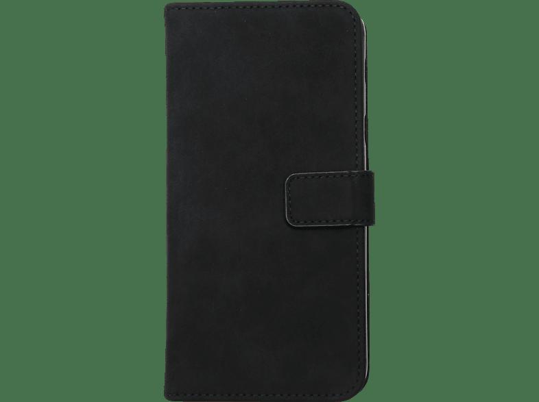 V-DESIGN BV 509 , Bookcover, Samsung, Galaxy A6 +, Kunstleder, Schwarz