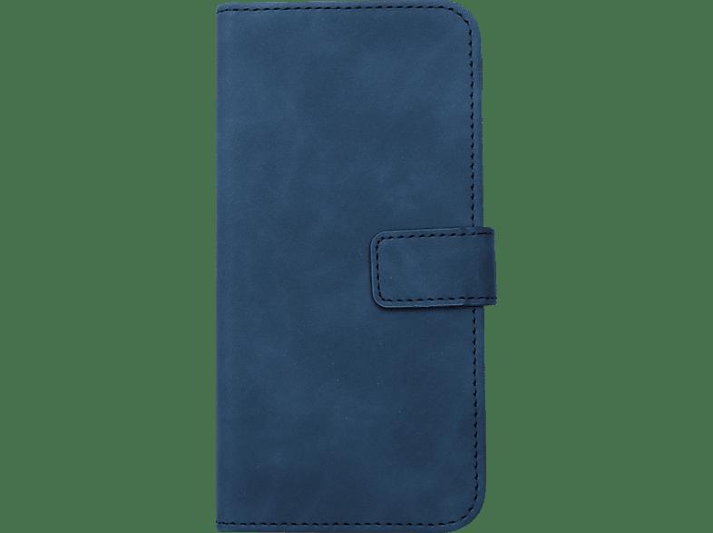 V-DESIGN BV 519 , Bookcover, Samsung, Galaxy J4 +, Kunstleder, Blau