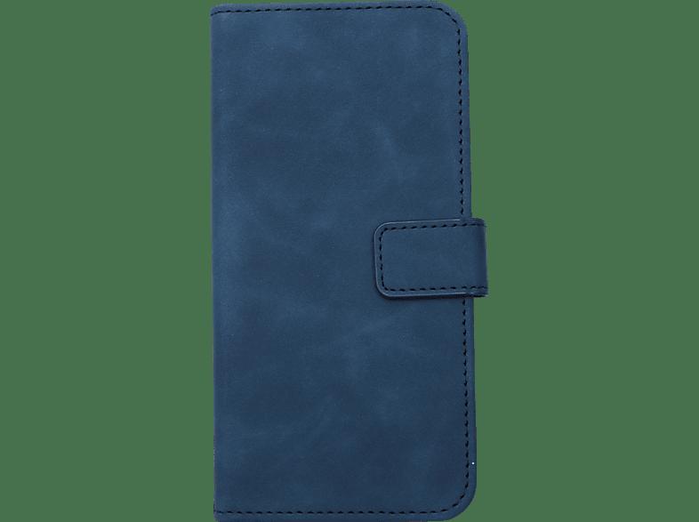 V-DESIGN BV 516 , Bookcover, Samsung, Galaxy A8 (2018), Kunstleder, Blau