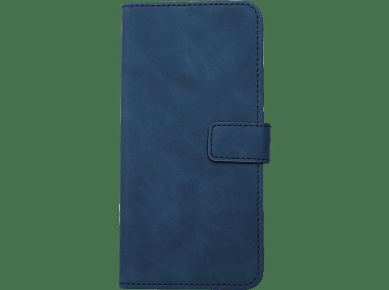 V-DESIGN BV 492 , Bookcover, Huawei, P Smart, Kunstleder, Blau