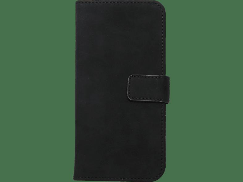 V-DESIGN BV 491 , Bookcover, Huawei, P Smart, Kunstleder, Schwarz