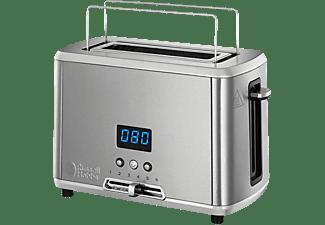 RUSSELL HOBBS 24200-56 Compact Home Mini Toaster Edelstahl (820 Watt, Schlitze: 1)