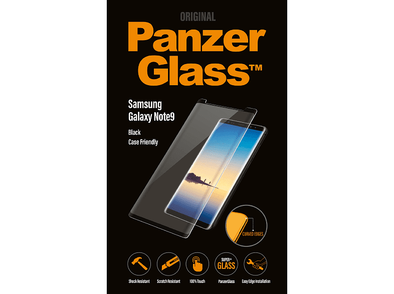 PANZERGLASS Case Friendly Privacy Displayschutz (Samsung Galaxy Note9)