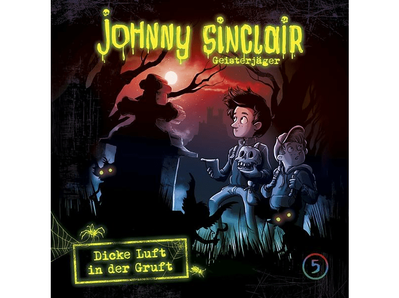 Johnny Sinclair - Johnny Sinclair 05: Dicke Luft In Der Gruft (Teil 2 Von 3) - (CD)