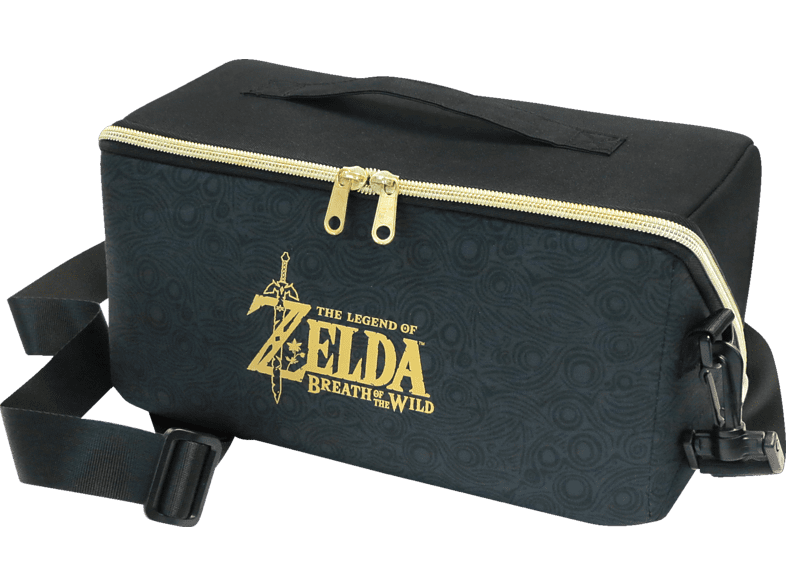 HORI Switch Zelda Carry All Bag Tasche Tasche, Schwarz