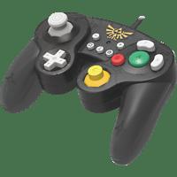 HORI Switch Smash Bros Gamepad Zelda Controller, Schwarz