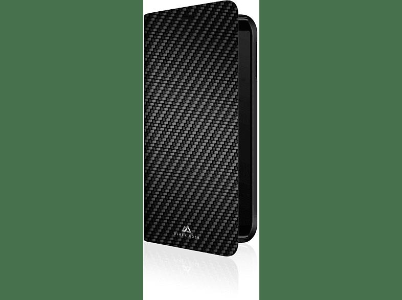 BLACK ROCK Flex Carbon , Bookcover, Samsung, Galaxy A7 (2018), Schwarz
